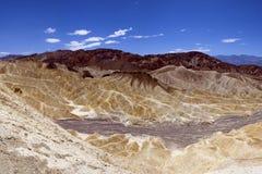 Zabrisky Punkt, Death Valley, USA Lizenzfreie Stockbilder