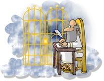 zabronione perłowego st Peter ilustracji