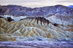 Zabruski Point Death Valley National Park Stock Images