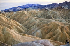 Zabruski Point Death Valley National Park Royalty Free Stock Photography