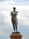 Zabytek admiral Ja f Krusenstern w St Petersburg Obraz Royalty Free