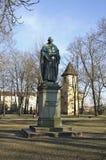 Zabytek żaglowiec w Regensburg bavaria Niemcy Obraz Stock