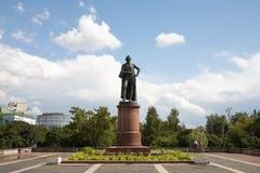Zabytek Aleksander Suvorov w Moskwa 21 07 2017 Fotografia Royalty Free