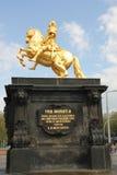 Zabytek Augustus Silnomu Obraz Royalty Free