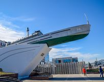 Zabytek Bohaterscy żeglarzi Chernomortsam obraz royalty free