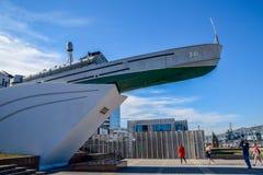 Zabytek Bohaterscy żeglarzi Chernomortsam obrazy royalty free
