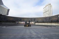 Zabytek Bohaterscy obrońcy Leningrad Zdjęcie Royalty Free
