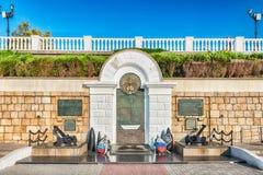 Zabytek bohaterzy Czarna Denna flota, Sevastopol, Crimea Fotografia Royalty Free