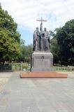 Zabytek Cyril i Methodius Zdjęcie Stock