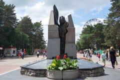 Zabytek Czarny tulipan ku pamięci tamto zabijać w Obrazy Royalty Free