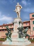 Zabytek Cztery Cumuje w Leghorn, Tuscany, Włochy Fotografia Stock