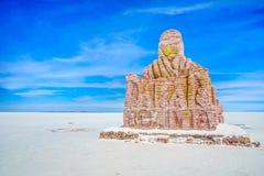 Zabytek Dakar wiec Uyuni w Boliwia zdjęcie stock