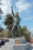 Zabytek Elvis Presley w wiosce Abu w Izrael Gosh obrazy stock
