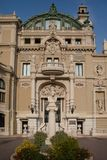 Zabytek Jules Massenet w Monte, Carlo - obraz stock