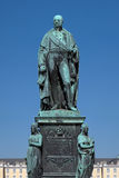 Zabytek Karl Friedrich Von Baden w Karlsruhe Fotografia Royalty Free