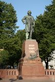 Zabytek kompozytor Mikhail Glinka zdjęcie royalty free