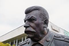 Zabytek ku pamięci Yalta, Crimea konferencja Obraz Royalty Free
