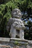Zabytek lew w starej części miasteczko w Monselice Zdjęcia Stock