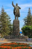 Zabytek lider Radzieccy ludzie Lenin obraz stock