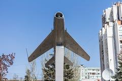 Zabytek lotnicy Samolot USSR zdjęcie stock