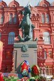 Zabytek Marchall Zhukov Fotografia Stock