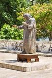 Zabytek Matkować Teresa w centrum Tirana, Albania obraz royalty free