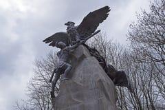 Zabytek obrońcy Smolensk w Patriotycznej wojnie 18 zdjęcia royalty free