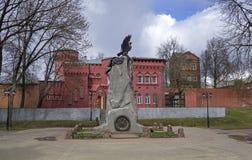 Zabytek obrońcy Smolensk w Patriotycznej wojnie 18 obrazy royalty free