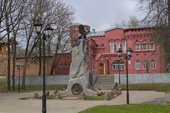 Zabytek obrońcy Smolensk w Patriotycznej wojnie 18 obrazy stock