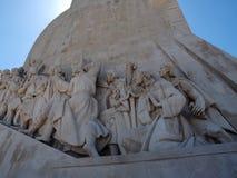 Zabytek odkrycie w Lisbon w Portugalia fotografia stock