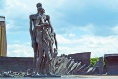 Zabytek ofiary Nazistowscy koncentracyjni obozy Obrazy Stock