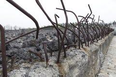 Zabytek ofiary Nazistowski Niemiecki eksterminacja obóz, BeÅ 'Å ¼ ec, Polska obraz royalty free