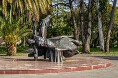 Zabytek poświęcać Abkhazians Fotografia Royalty Free