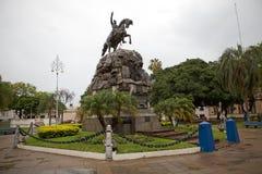Zabytek przy 25th Maja kwadrat w Corrientes, Argentyna zdjęcie royalty free