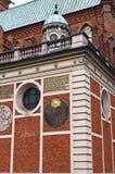 Zabytek średniowieczna architektura Obrazy Royalty Free