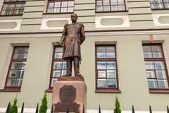 Zabytek Rosyjski admiral Pavel Nakhimov obraz royalty free