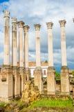 Zabytek ruiny w cordobie, Andalusia Zdjęcia Stock