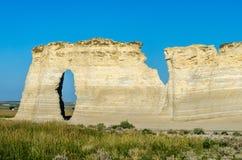 Zabytek skały kredy ostrosłupy Obraz Royalty Free