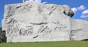 Zabytek spadać obrońcy Brest forteca zdjęcie royalty free