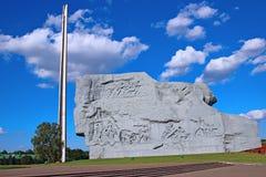 Zabytek spadać obrońcy Brest forteca obrazy royalty free
