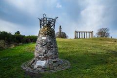 Zabytek Szkocki parlament Zdjęcia Royalty Free