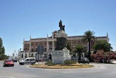 Zabytek w honorze Segismundo Moret y Prendergast, Hiszpański polityk i pisarz, obrazy stock