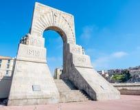 Zabytek w Marseille, Francja obraz stock