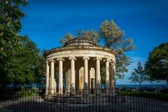 Zabytek w starym miasteczku, Corfu wyspa, Grecja Fotografia Stock