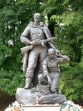 Zabytek w zwycięstwo parku w Kaliningrad Obraz Stock