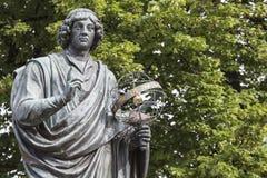 Zabytek wielki astronom Nicolaus Copernicus, Toruński, Polska Obraz Royalty Free