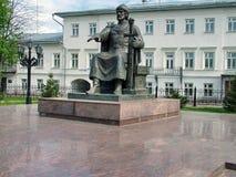Zabytek Yuri Dolgoruky w Kostroma Fotografia Royalty Free