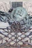 Zabytek zwycięzca Emmanuel II, pierwszy królewiątko zlany Włochy, szczegóły, Wenecja, Włochy obraz stock