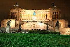 Zabytek zwycięzca Emmanuel II, Venezia kwadrat w Rzym, Ita Obraz Royalty Free