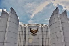 Zabytki perjuangan Indonezja Zdjęcie Stock